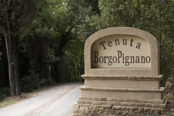 Borgo Pignano Boundary Stone